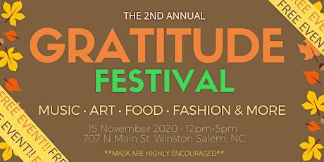 The Gratitude Festival tickets