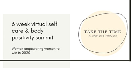 Take The Time Project   Sustainable Self Care tickets