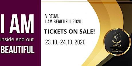 I Am Beautiful 2020 Virtual Beauty seminar entradas