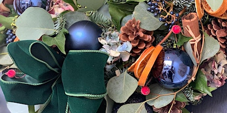 Christmas wreath workshop - LIVE tickets