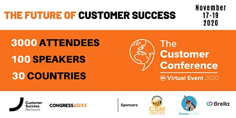 The Customer Conference - The Future of Customer Success tickets