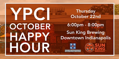 YPCI: October Happy Hour, Sun King Brewing Co. tickets