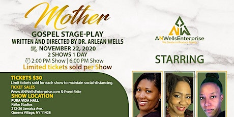 """Mother"" Gospel Stage-Play tickets"