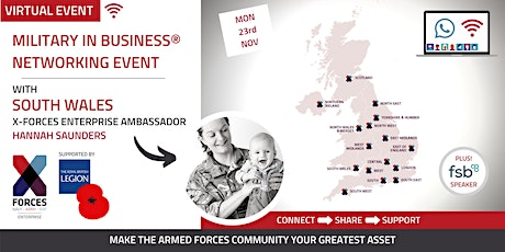 Military in Business Virtual Networking Event: South Wales tickets