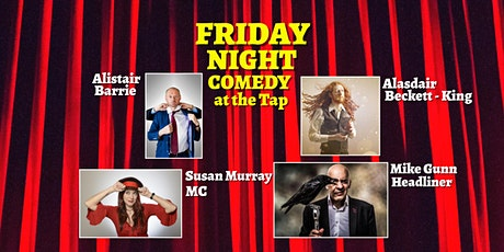 Friday Night Comedy at The Tap tickets