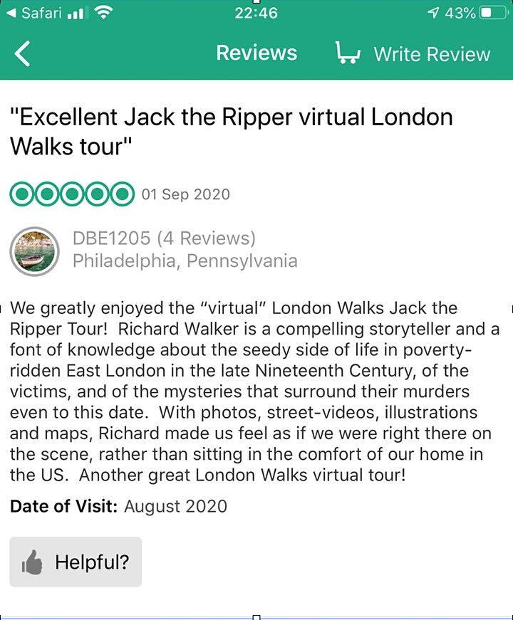 Yours truly Jack the Ripper image