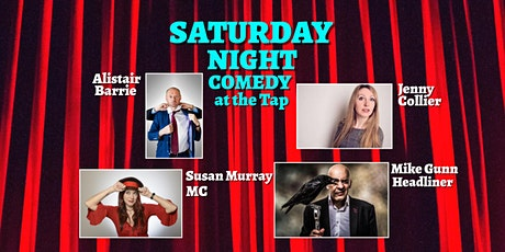 Saturday Night Comedy at The Tap tickets