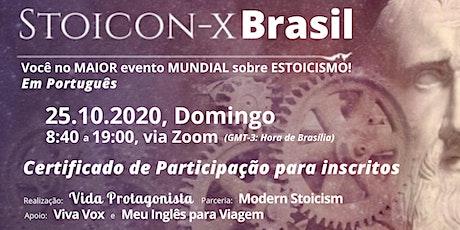 1º Stoicon-X BRASIL (com Certificado de Participação) ingressos
