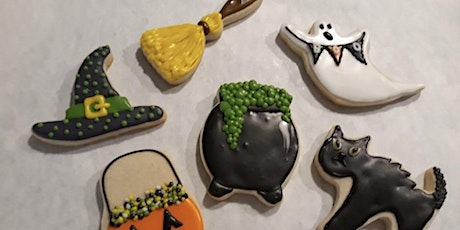 Halloween Cookie Decorating With Wine tickets
