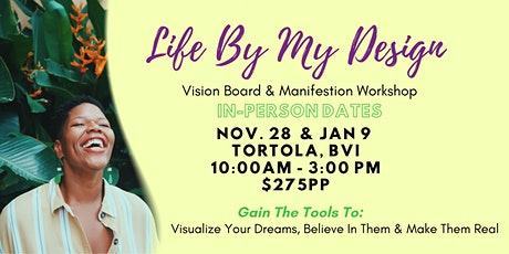 Life By My Design - Manifestation & Vision Board LIVE Brunch tickets