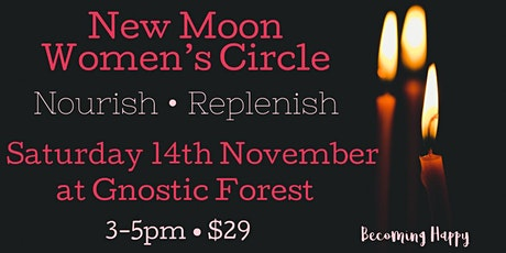 New Moon Women's Circle - 14th November tickets