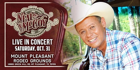 Neal McCoy Live in Mount Pleasant TX tickets