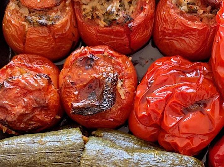 Vegetarian and Vegan Greek Feast image