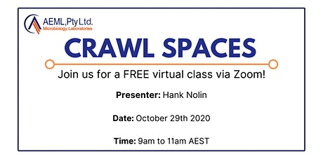 AEML Pty  Ltd Presents Crawl Spaces with Hank Nolin tickets