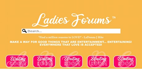 LADIES FORUMS: PANDEMIC tickets