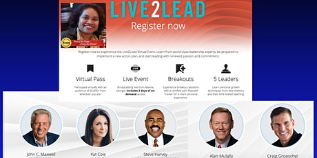 Live2Lead North Jersey 2020: Online Leadership Conference (January) tickets