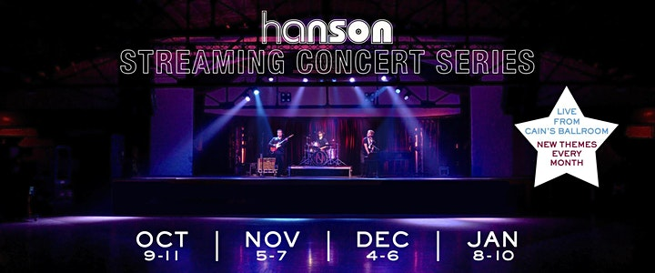 HANSON STREAMING CONCERT SERIES: Listener's Choice image