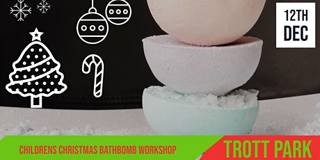 Christmas Bathbomb Workshop  | Trott Park  | For Kids tickets