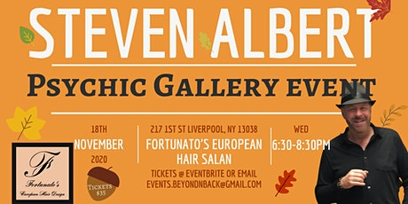 Steven Albert: Psychic Medium Gallery Event  Fortunato's tickets