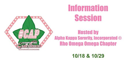 #CAP (College Admission Process) Information Session tickets
