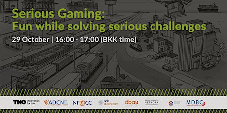 Serious Gaming: Fun while solving serious challenges tickets