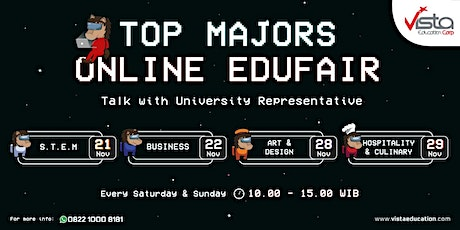 TOP Majors Online Education Fair 2020 tickets