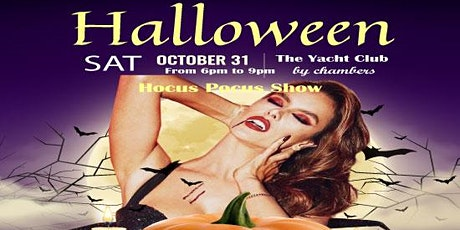 Halloween Yacht Dinner Cruise tickets
