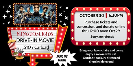 Kingdom Kids Drive In Movie Night tickets