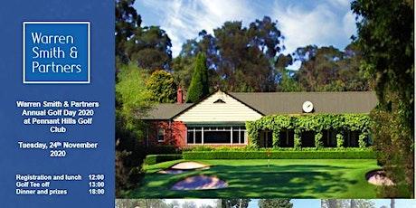 Warren Smith & Partners - Golf Day 2020 tickets
