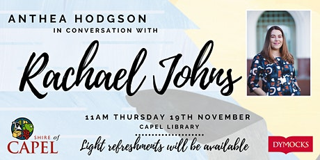Anthea Hodgson in conversation with Rachael Johns tickets