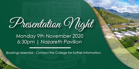St Mary's Catholic College Presentation Evening tickets