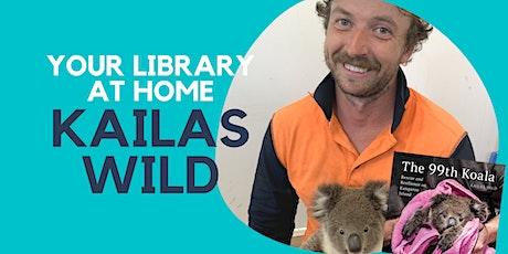 Kailas Wild - Online Author Talk tickets