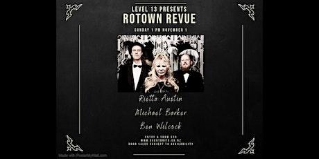 Rotown Revue with Rietta Austin, Michael Barker and Ben Wilcock tickets