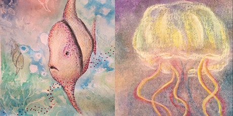 Sea Creatures - Painting workshop for kids tickets