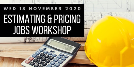 Estimating & Pricing Jobs Workshop tickets