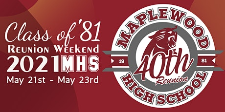 Maplewood High School Class of 1981 40th Reunion tickets