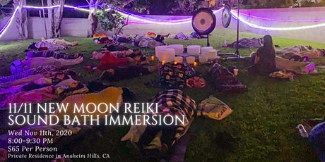 11/11 New Moon Outdoor Reiki Sound Bath tickets