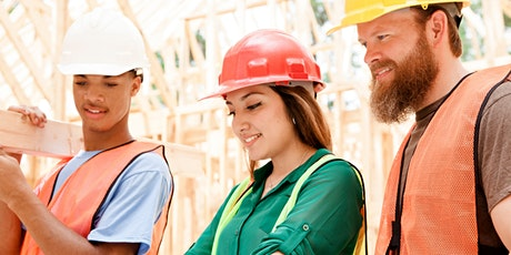 GET INTO CONSTRUCTION - FREE ENTRY LEVEL PROGRAMME tickets