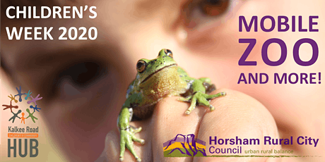 Children's Week 2020: Mobile Zoo & More! tickets