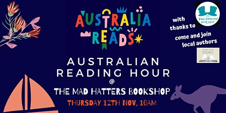 Australia Reads; On Hour Reading Challenge tickets
