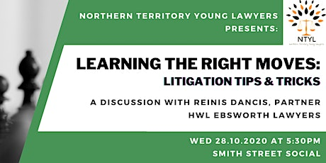 CPD Learning the right moves: Litigation tips & tricks - Reinis Dancis, HWL tickets