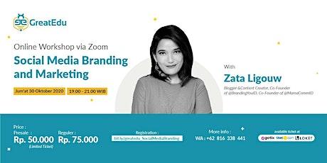 Social Media Branding and Marketing tickets