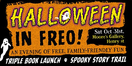 Halloween in Freo - Triple Book Launch tickets