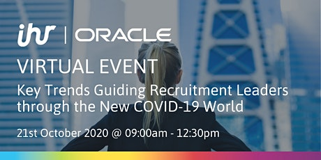 Key Trends Guiding Recruitment Leaders through the New COVID-19 World tickets