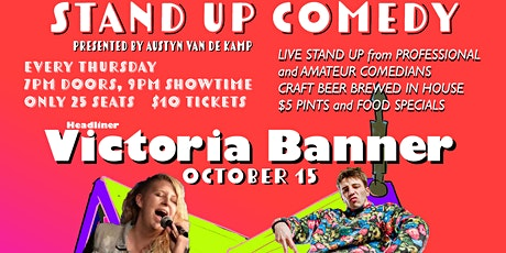 Comedy on Mill St. featuring Victoria Banner tickets
