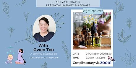 Prenatal & Baby Massage with Essential Oils tickets