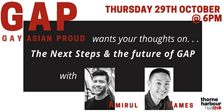 Gay Asian Proud (GAP): The Next Steps tickets