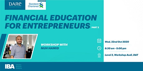 Financial Education for Entrepreneurs Part II by D tickets