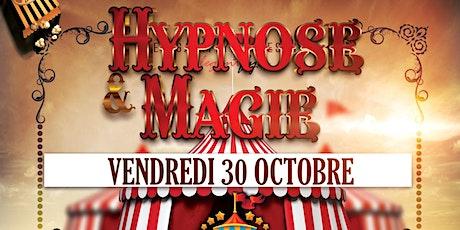 HYPNOSE et MAGIE (durant la semaine circus au Joker) billets