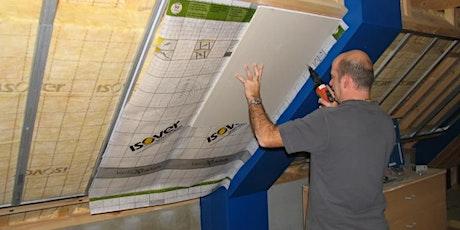 ISOVER & Gyproc®: Gecertificeerd aannemer binnenisolatie van de buitenmuur tickets